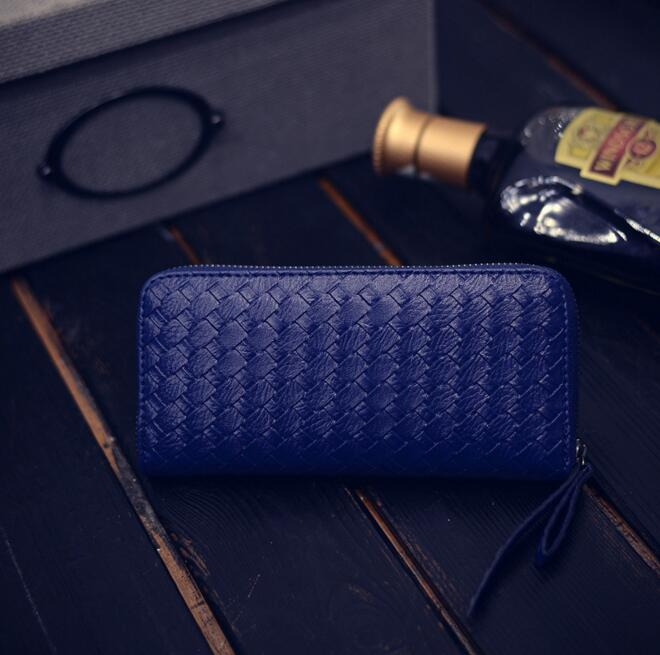 Women fashion new purse hot style weave a long zipper hand bag lady wallet fashion mobile wallet ouluoer thailand imported crocodile skins the lady women purse with a purse and a long women wallet
