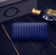 Модные женские новый кошелек популярный стиль ткань длинная молния руки мешок леди бумажник моды мобильный кошелек