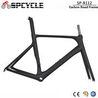 Spcycle Full Carbon Road Bike Frame 2019 New Aero Cycling Racing Bicycle Carbon Frameset T1000 Carbon Road Bicycle Frames BB86