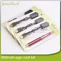 Ego CE4 Kits Blister pacote de CE4 atomizador 900 mah Ego cigarro eletrônico vaporizador Pen