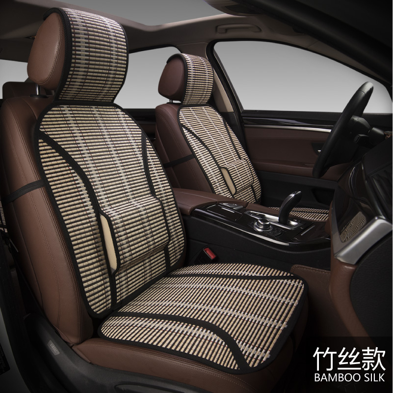New bamboo filament air cooling cushion car bamboo silk cushion single seat four seasons general bamboo