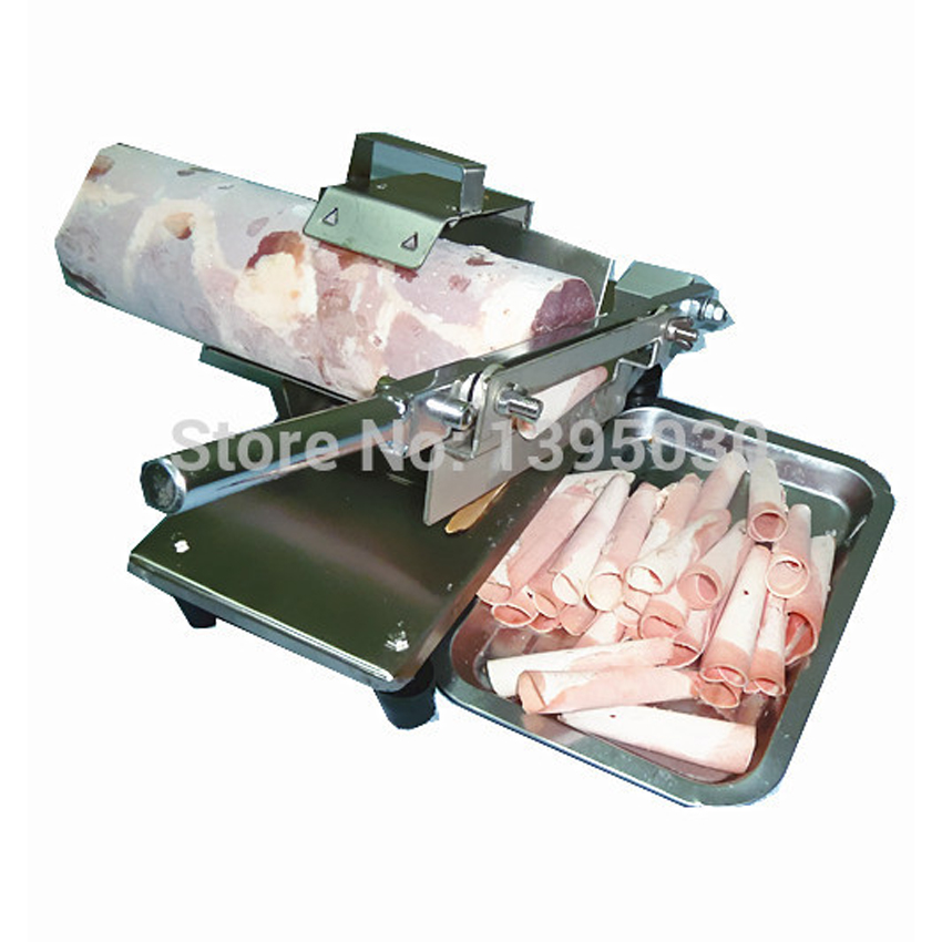 Meat Slicer, Slicer, Manual Household Mutton Roll Slicer, 0.2-20MM Thickness Cut Meat, Meat Planing Machine, Beef, Lamb Slicer