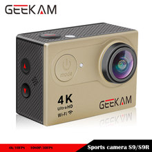 GEEKAM S9 Ultra 4K 1080P HD/30FPS 720P/60FPS 170D angle 2.0 Inch WIFI Action Camera Sports Cam Go Diving Bike Pro 12MP Car DVR