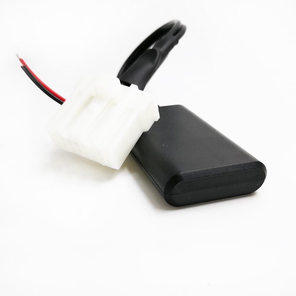 Автомобильный радиоприемник Biurlink, беспроводной Bluetooth модуль, Aux адаптер, музыкальный аудио адаптер для Mazda 2 3 5 6 MX5 RX8
