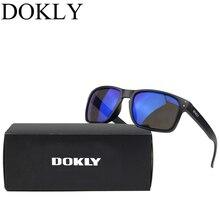41301ab385 Gafas De Sol De marca Dokly para hombre, gafas De Sol modernas, gafas De Sol  con revestimiento multicolor, gafas De Sol para hom.