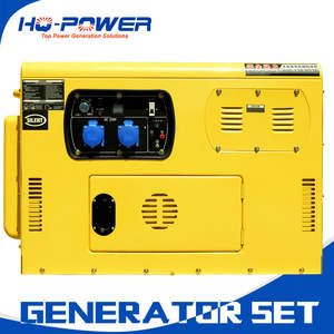 super silent portable generators 10 kva home use diesel genset
