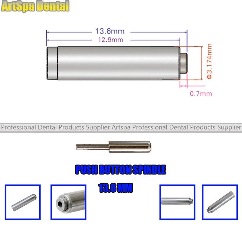 Купить с кэшбэком 5PCS 13.6mm Push Button Axis For Maintenance Dental Handpiece