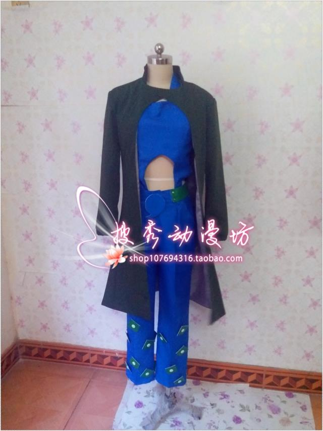 2016 Anime JoJo's Bizarre Adventure Jolyne Kujo Cosplay Jolyne Cujoh Cosplay Costume Any Size