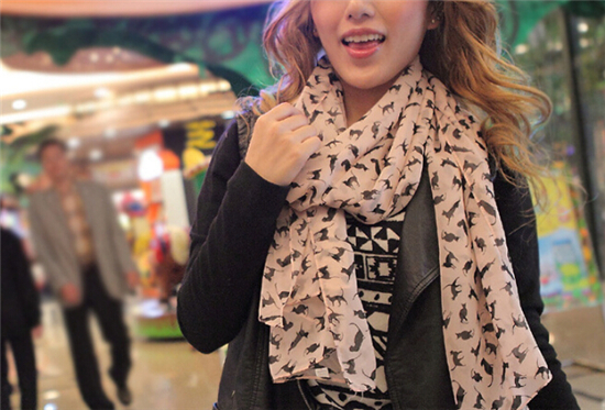 Cute Kitten Scarf