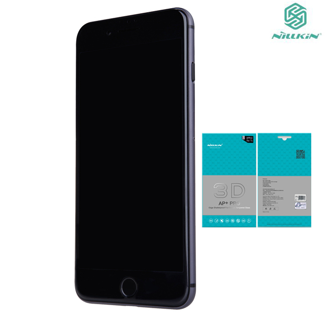 9b65be27e42 Original 3D Curved Edge Full Cover Tempered Glass for Iphone 7 8 Premium  Screen Protector For iPhone 8 Glass iPhone8 Film 4.7''
