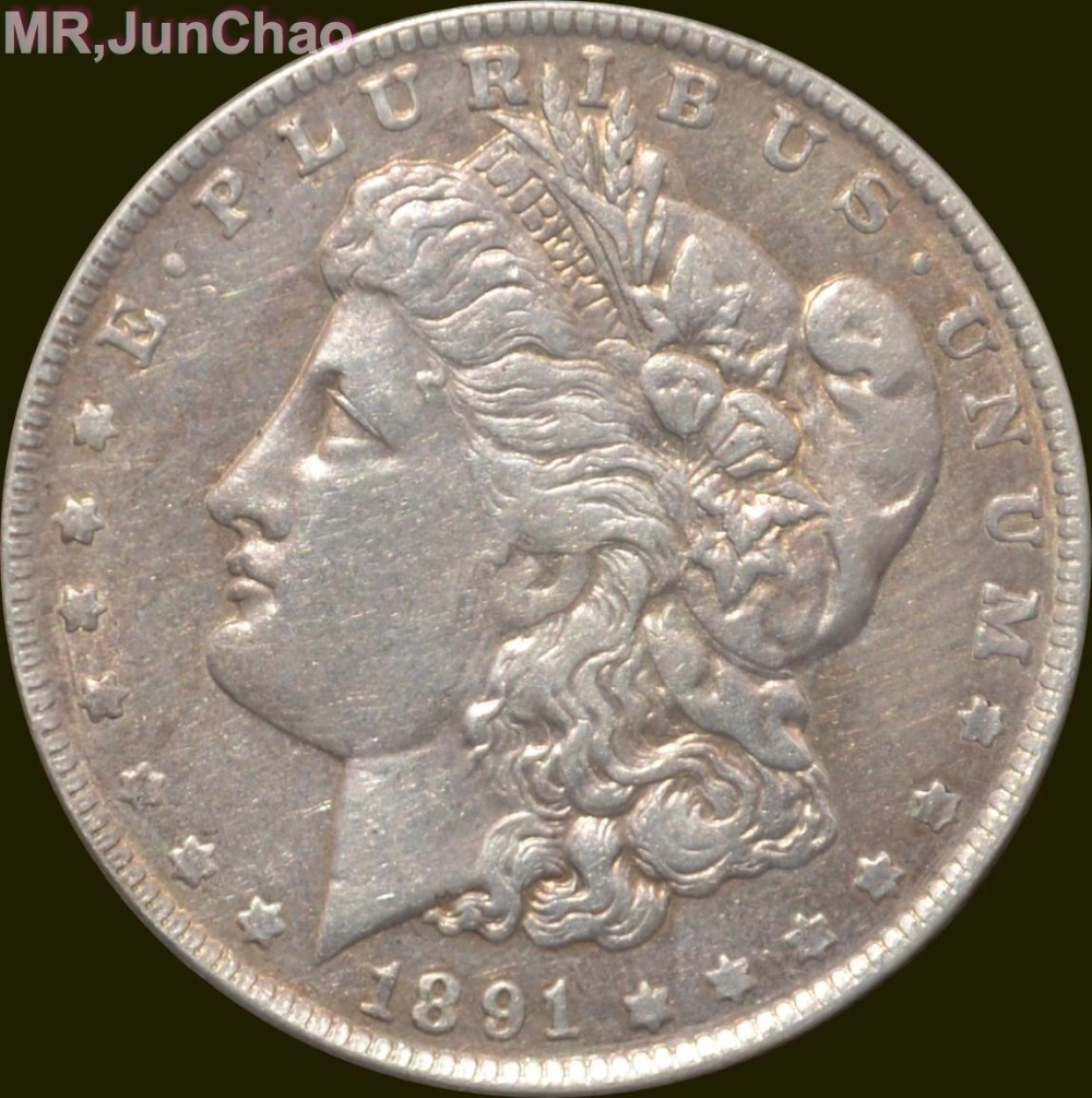 U.S. 1891-CC Morgan One Dollar 90% Silver Copy Coins Can Choose Many Kinds to Make Old StyleU.S. 1891-CC Morgan One Dollar 90% Silver Copy Coins Can Choose Many Kinds to Make Old Style