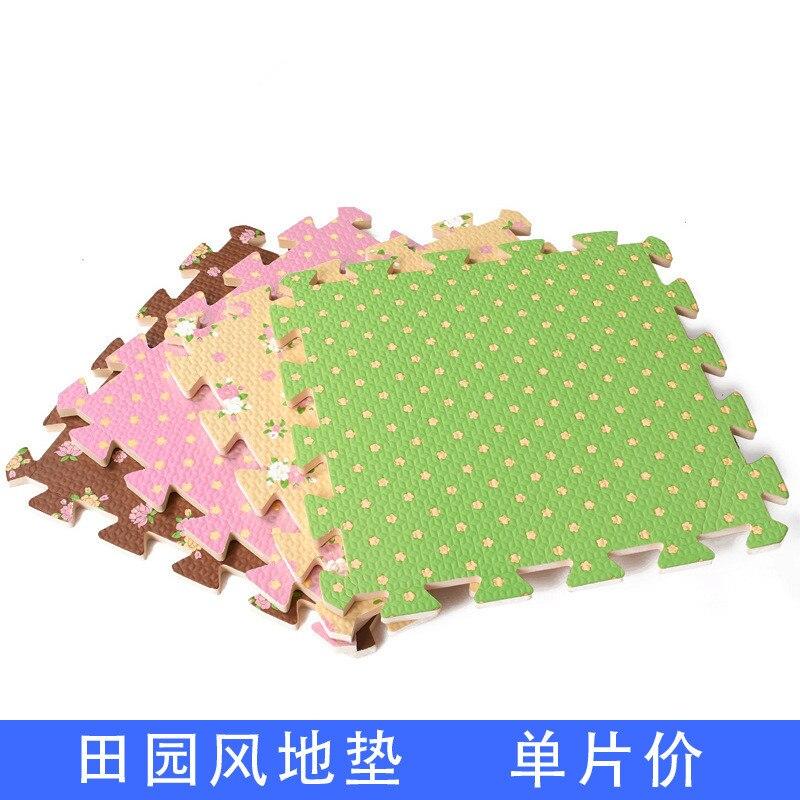 1 pcs 30x30 cm tapis de jeu enfant ferme style puzzle bb tapis de sol en - Tapis De Jeu Bebe 1 An