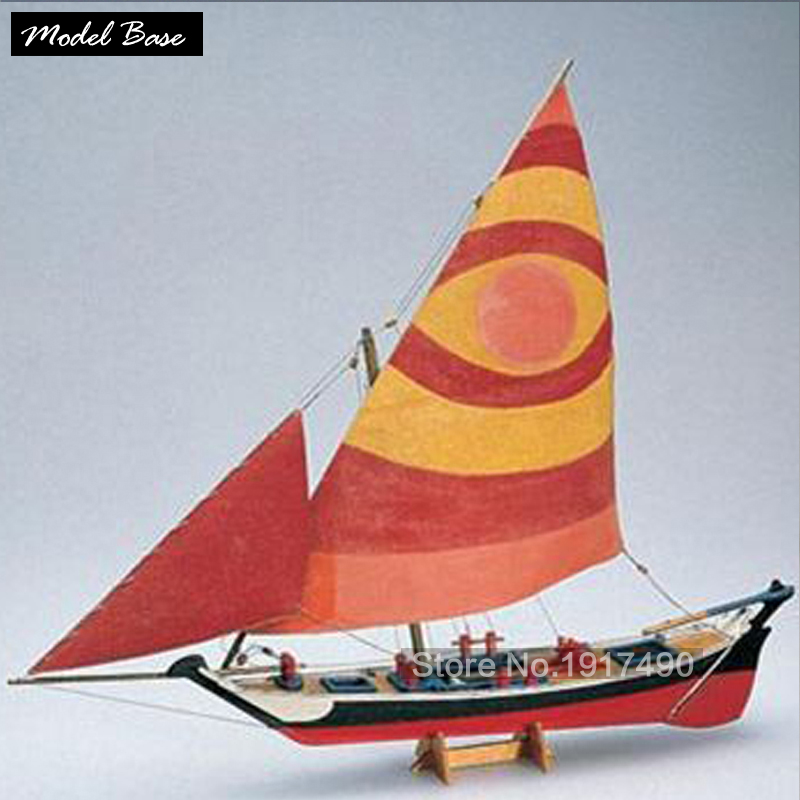 ФОТО Wooden Ship Model Kits Train Hobby DIY Model Boats Wooden 3d Laser Cut Scale 1/50 Felucca 1887 Get external hull and deck wood