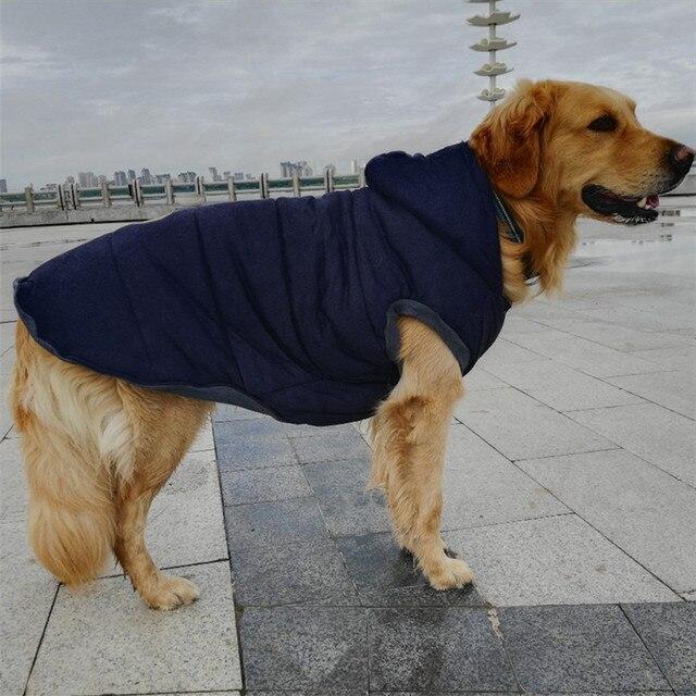 Grande Cane Cappotto Giacca di Grandi Dimensioni Vestiti Del Cane di Inverno Sam