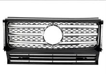 For Mercedes-Benz G-class W463 G500 G63 G65 G800 1990-2018 with Emblem CL Style Front Racing Grille for mercedes benz g class w463 g500 g63 g65 g800 1990 2018 with emblem gt style front racing grille