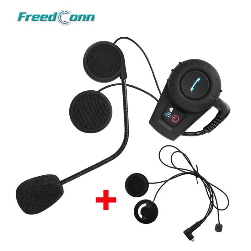 500M FreedConn FDCVB Motorcycle BT Bluetooth Multi Interphone Headsets Headset Helmet Intercom Handfree Extra Soft Earpiece