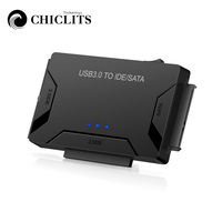 SATA Combo USB IDE SATA Adapter Hard Disk SATA to USB3.0 Data Transfer Converter for 2.5/3.5/5.25 Optical Drive HDD SSD EU UK US