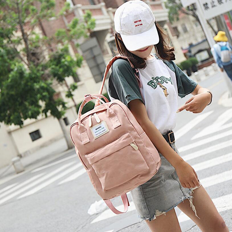 HTB1iZFQB5CYBuNkHFCcq6AHtVXab Yogodlns Campus Women Backpack School Bag for Teenagers College Canvas Female Bagpack 15inch Laptop Back Packs Bolsas Mochila