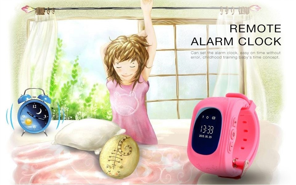 children watch gps  watch smart child clock