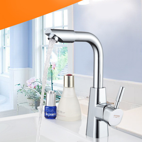 Free shipping Deck mounted single handle bathroom basin faucet with solid brass bathroom basin sink faucetFree shipping Deck mounted single handle bathroom basin faucet with solid brass bathroom basin sink faucet