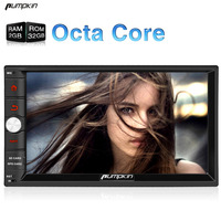 Capacitive Screen Two Din 7 Inch Android 6 0 Car DVD Player Radio For Skoda Octavia