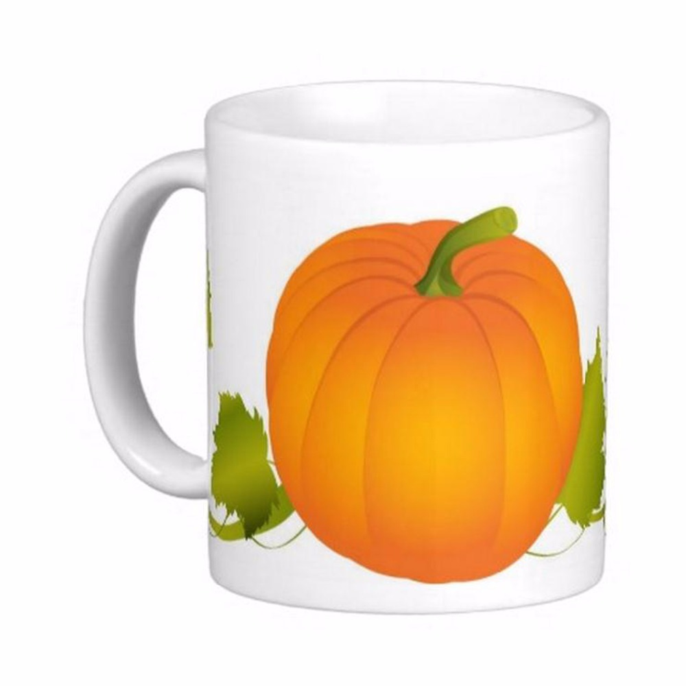 Pumpkin Vines Owl Leaf Tree <font><b>Blessing</b></font> Faith White Coffee Mugs Tea Mug Customize Gift By LVSURE Ceramic <font><b>Cup</b></font> Mug Travel Coffee Mugs