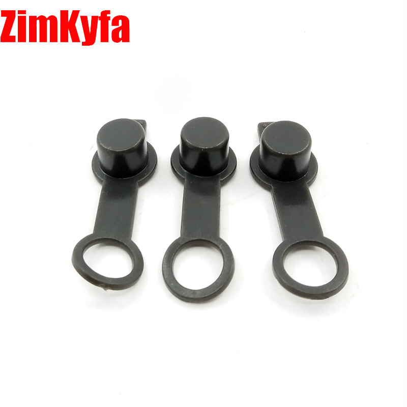 Paintball 3pcs Air Tank Rubber Fill Nipple Covers Dustproof