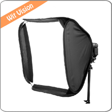 16″ 40CM Portable Softbox Soft Box For Speedlight and Flash Light Accessories For Photo and Studio