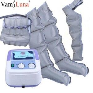 Image 1 - Masseur de Compression dair contrôleur de poche pompe de Circulation sanguine ensemble denveloppe pour Double bras jambe manchette taille Relax Massage