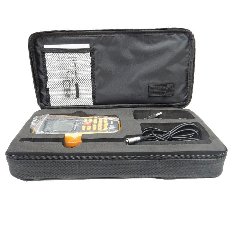 Gm8903 Горячие Провода цифровой анемометр ветер Скорость/воздушный поток/Температура метр измерения 0 ~ 30 м/с с USB интерфейс и тонкий Сенсор