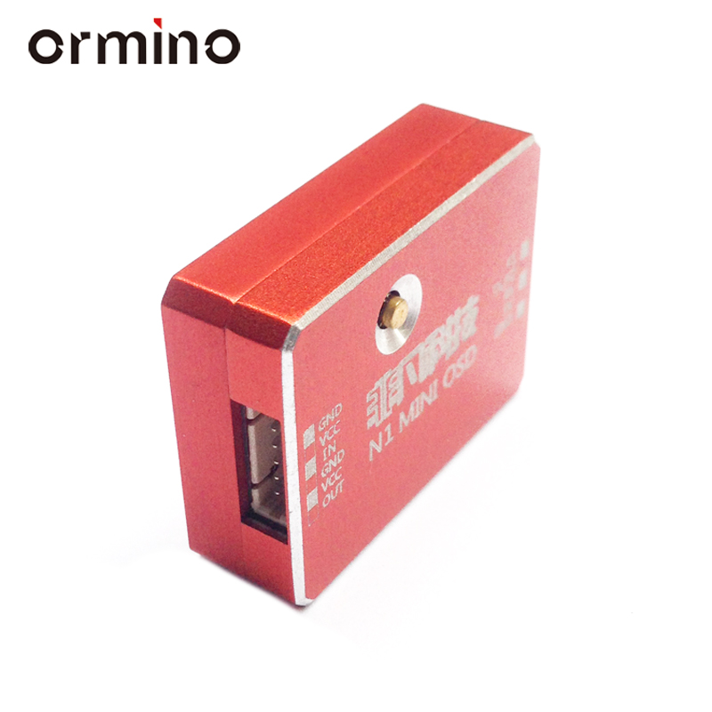 Ormino N1 Mini OSD NAZCompatible NAZA M V1 V2 NAZA Lite PIXHAWK2 Flight Controller FPV Drone Accessories Quadcopter Diy Parts fpv s2 osd barometer version osd board read naza data phantom 2 iosd osd barometer with 8m gps module