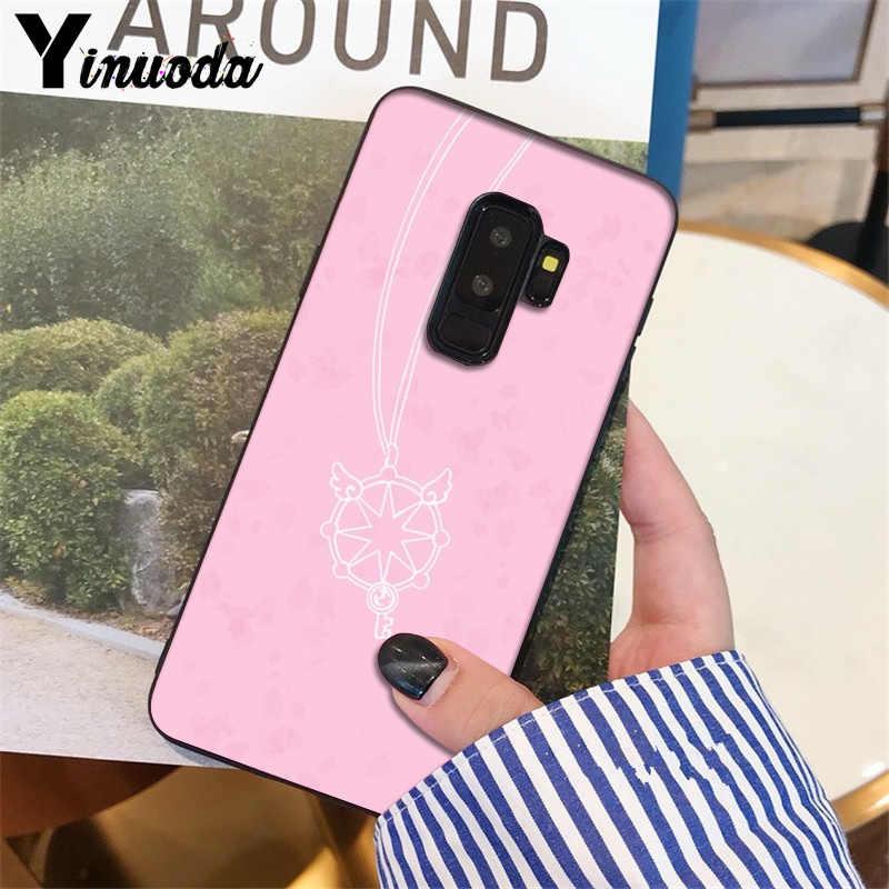 Yinuoda Cardcaptor Sakura хит продаж модный дизайн сотовый Чехол для Galaxy S6 edge plus s7 edge s8 plus s9 plus