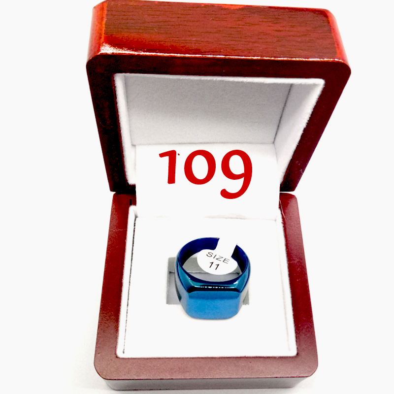 #109/ custom gift ring 2009ring with display box
