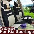 Asiento de coche cubre para kia sportage 2014 accesorios cubierta sándwich asientos cojín cojines del asiento de coche personalizado coche cubre para kia