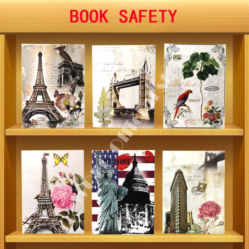 WOFO London Bridge Secret Book Piggy Bank Money Hidden Safe Password Lock Cash Money Box Birthday Present 26.5 * 20 * 6.5CM