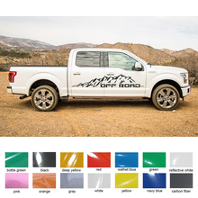car body sticker moutain adventrue off road vinyl graphics for Ford FORD F150 2015 2016 2017 RAPTOR