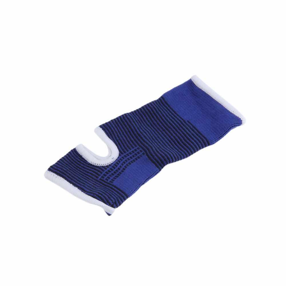 1 個プロフェッショナル弾性ニット足首サポーターサポートバンドスポーツジム保護靴足首治療包帯