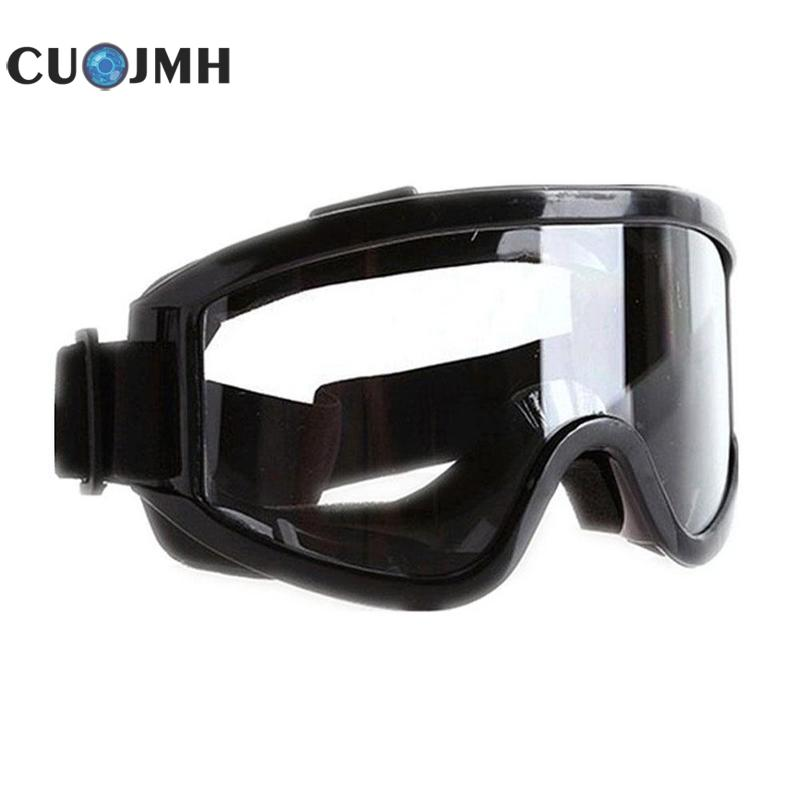 цена pvc Safety Goggles Sponge Anti-shock Sports Dust Prevention Blinder Windproof Tactical Goggles Outdoor Protective Glasses