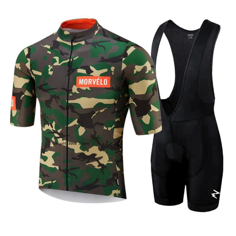 2019 morvelo verão camisa de ciclismo bib conjunto mountain bike roupas mtb bicicleta roupas wear maillot ropa ciclismo dos homens conjunto
