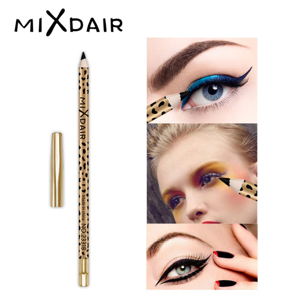 MIXDAIR eyebrow pencil 2in1 multifunction eye makeup tool waterproof long lasting Leopard Print eyebrow tattoo pen MD005