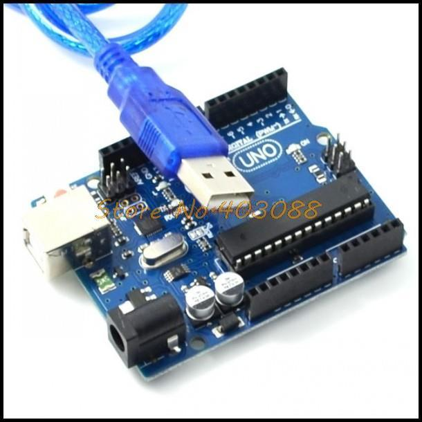 UNO R3 MEGA328P ATMEGA16U2 for Arduino  + USB Cable