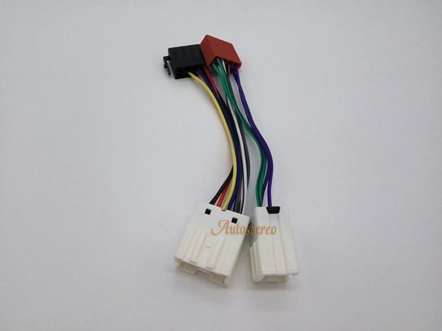 Kostenloser versand ISO Standard Auto Radio Kabel für Nissan Almera ...