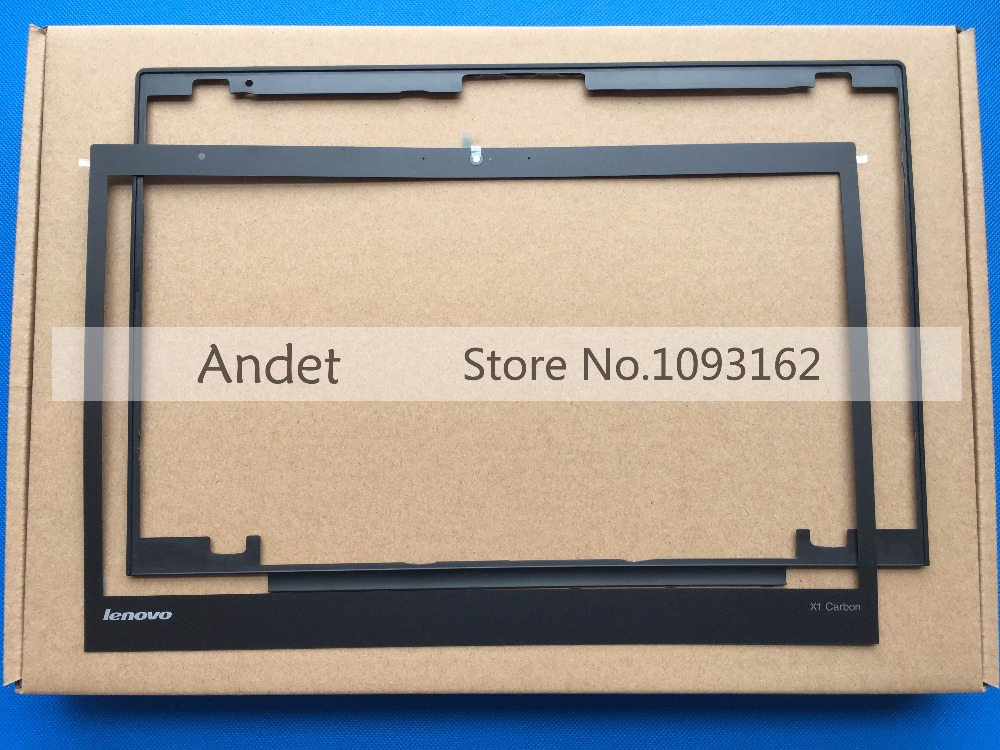 New Original ThinkPad X1 Carbon Gen 2nd 3rd MT:20A7 20A8 20BS 20BT LCD Front Bezel Cover Non-Touch 1600*900 1920*1080 04X5567 new original lenovo thinkpad x1 carbon 2014 gen 2nd 20a7 20a8 laptop keyboard palmrest bezel cover