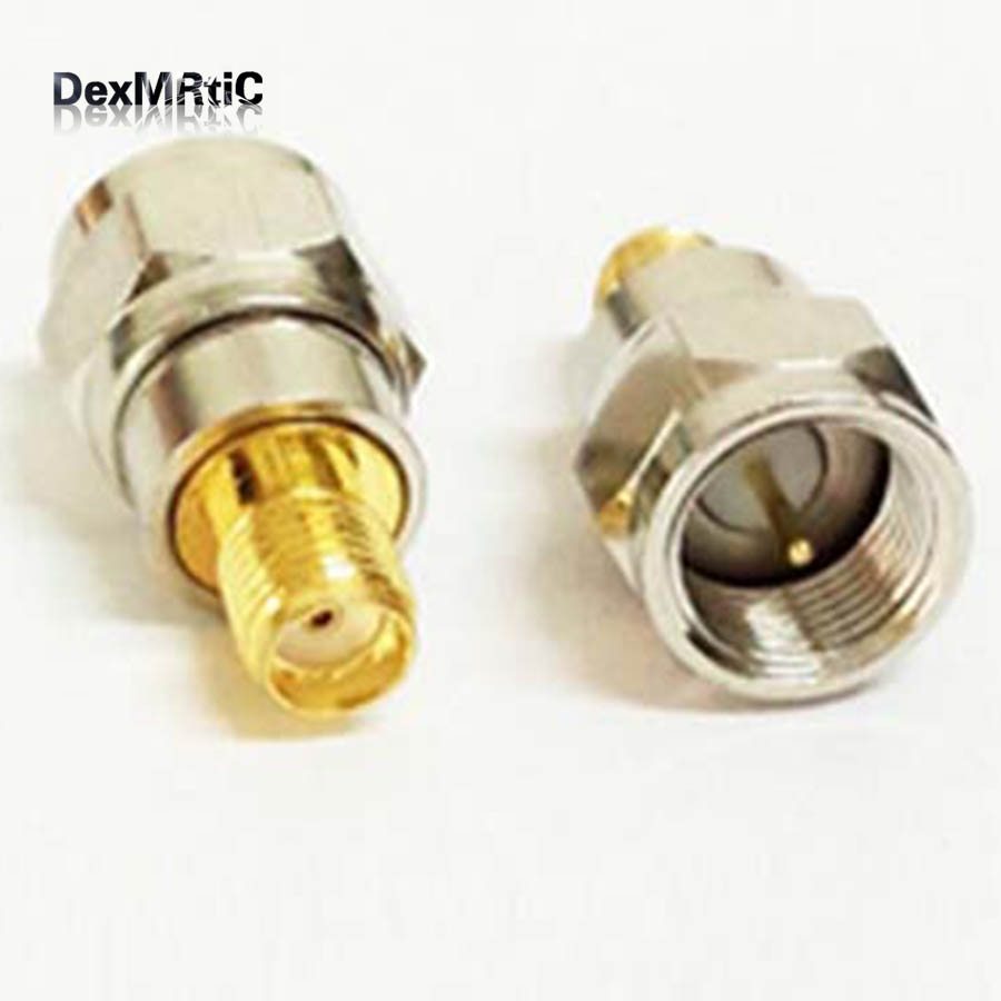 1pc Brand New SMA-F  Adapter F Male Switch SMA Female Straight  Connector Wholesale More Favorable