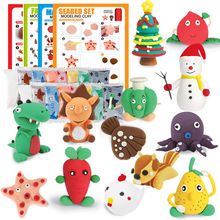 Super Light Colored Clay Manual DIY Modeling Plasticine Multicolor Cartoon Animal Instructions Educational Children Toys