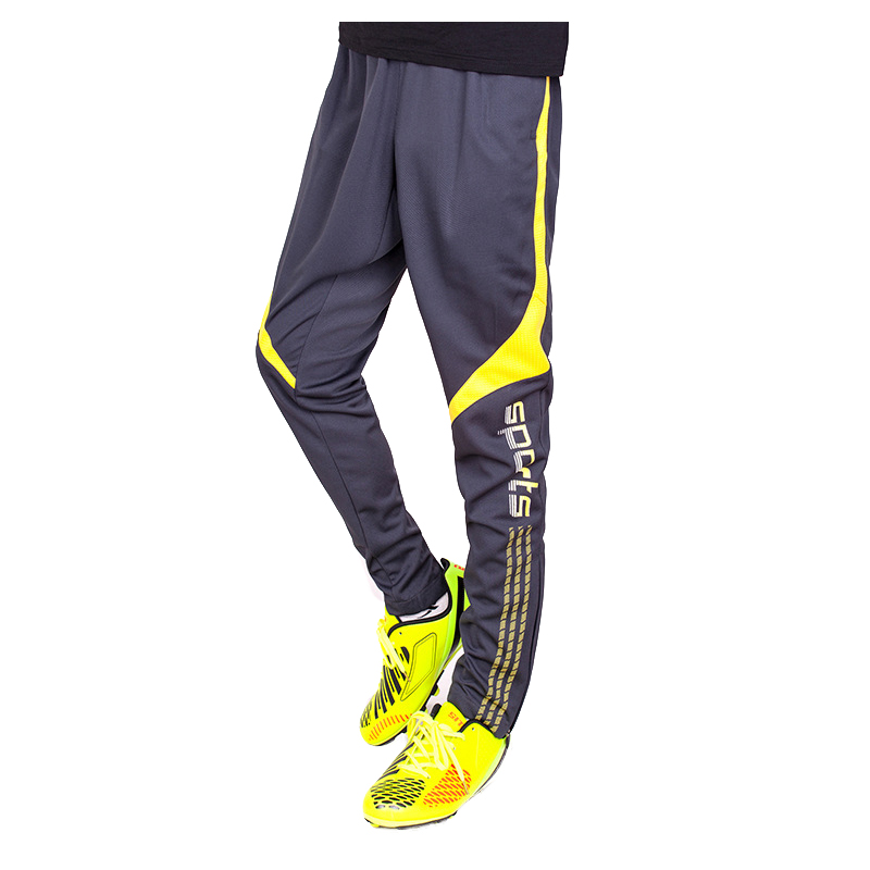 survetement football 2017 Hot Mens Sport Quick-drying Running zipper Closing Leg Trousers Football Training Pants