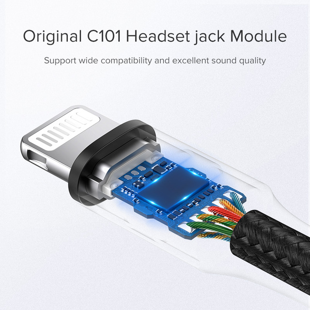 MFi Lightning to 3.5 mm Jack AUX Cable for iPhone