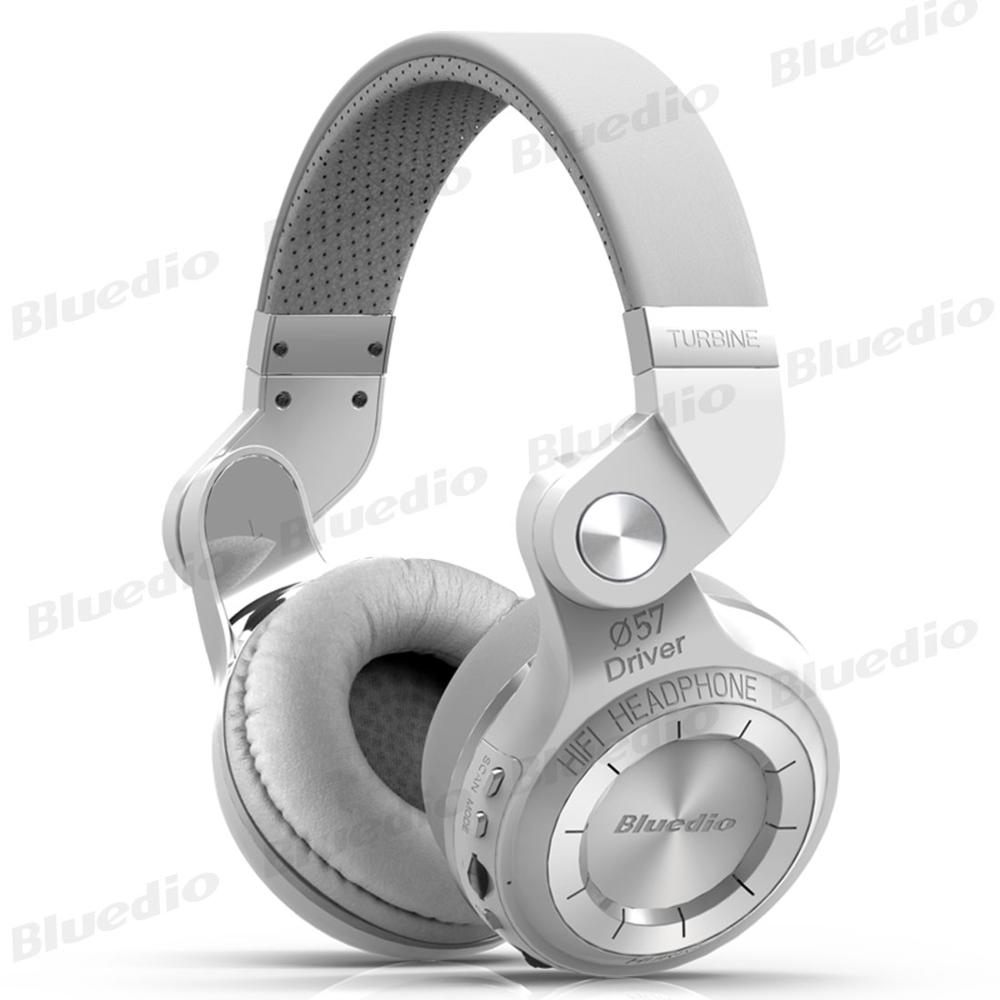 Bluedio T2+ Bluetooth Headphone 5.0 Wireless/Wire Airphone 4 Colors Stereo Headset With FM Radio & SD Card For Calls And Music