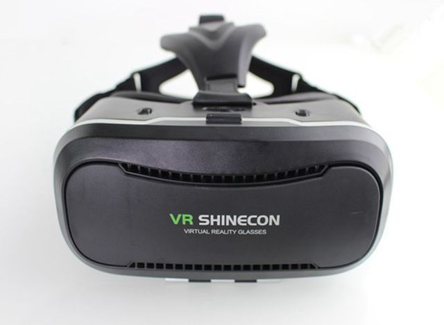 Original Shinecon VR 2.0 3D Glasses Virtual Reality Google Glass Head Mount VR Headset vrbox for 4.5-6.0'Phone for xiaomi meizu