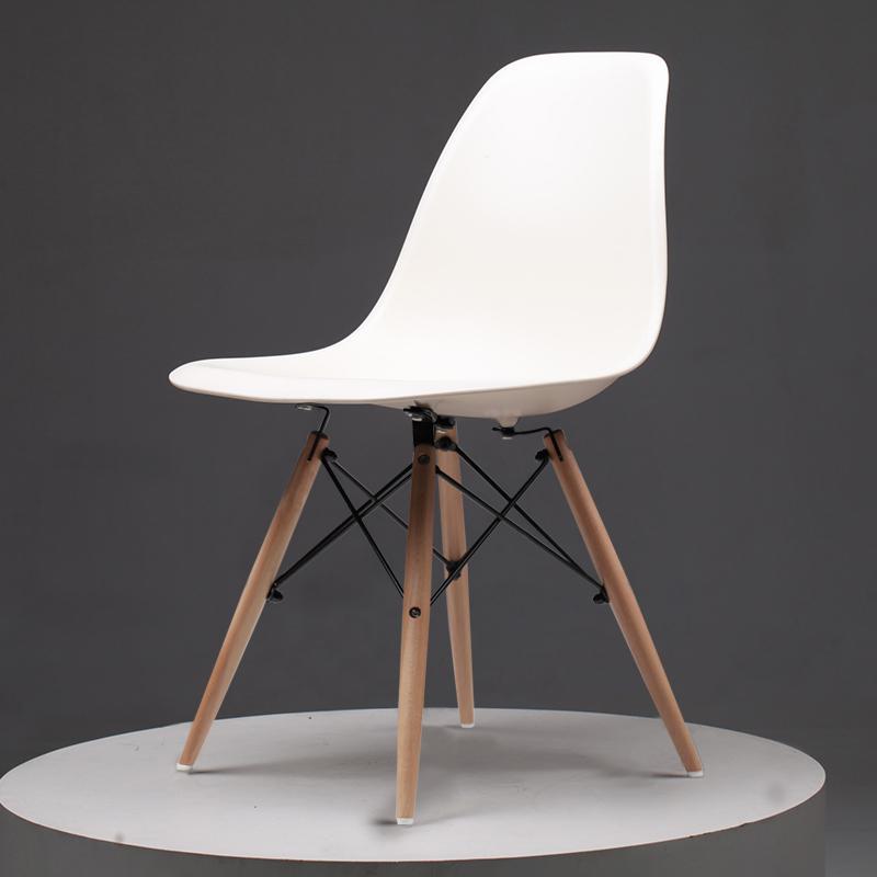 Скандинавский обеденный стол и стулья, современный минималистичный креативный компьютерный офисный стул, повседневный домашний пластиковый кофейный стул - Цвет: Style 1
